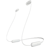 Bluetooth-гарнитура Sony WI-C200 (белая)