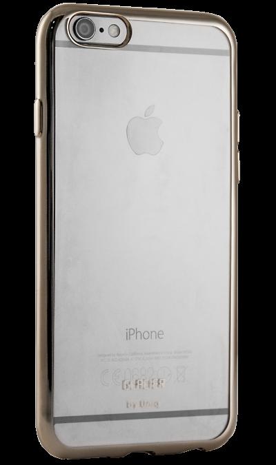 Бампер Uniq Glacier Glitz для Apple iPhone 6, силикон, золотистый