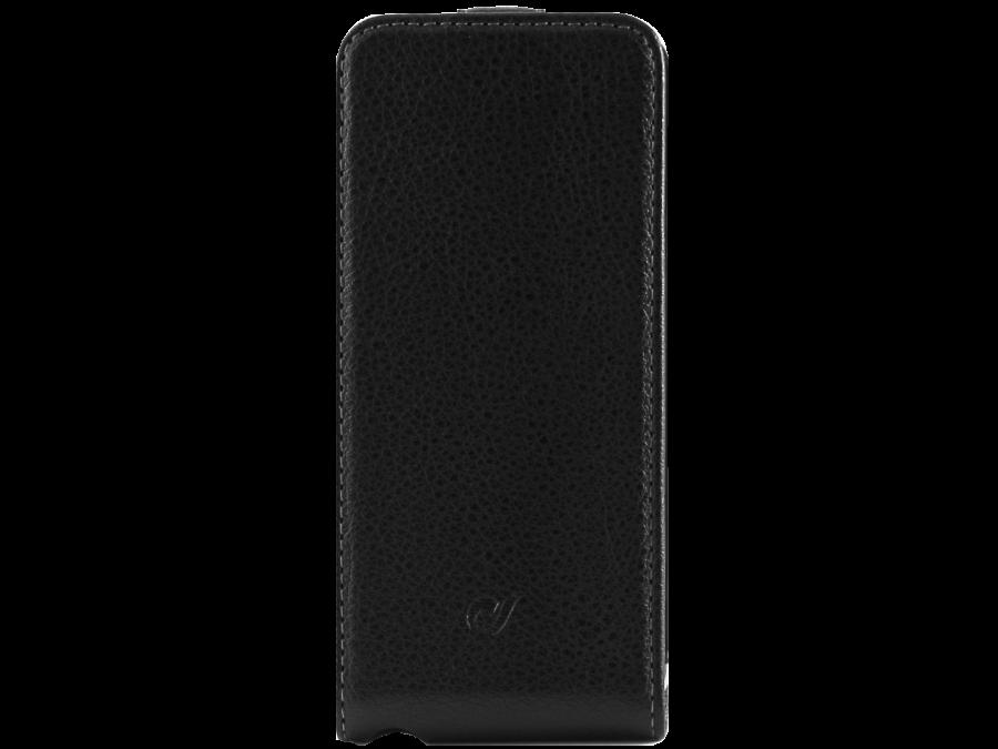 Чехол-книжка Cellular Line 17100 для Apple iPhone 5/5s, кожзам, черный