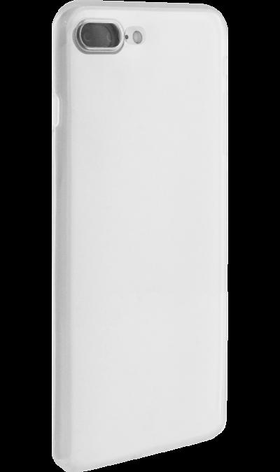 Чехол-крышка ZAKKA для Apple iPhone 7 Plus, силикон, белый (прозрачный)